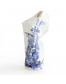 Paper Vase Cover Delft Blue Icons afbeelding
