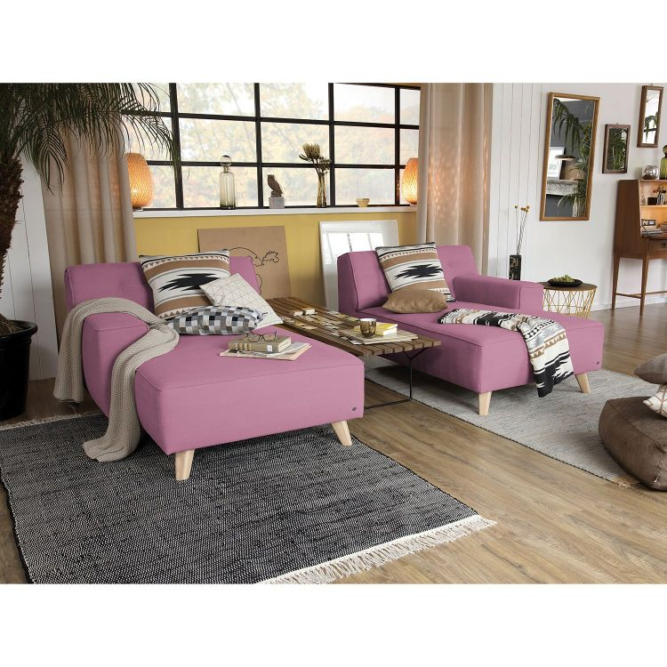 Image Home24 Chaise Longue Nordic Chic, Home24