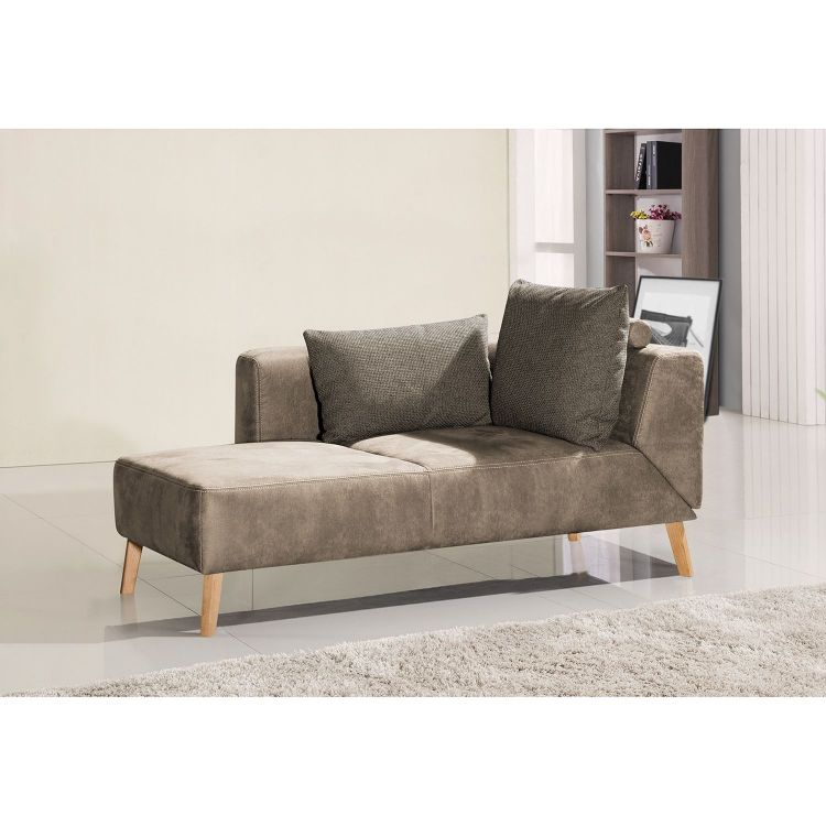 Image Home24 Chaise Longue Pulow, Home24