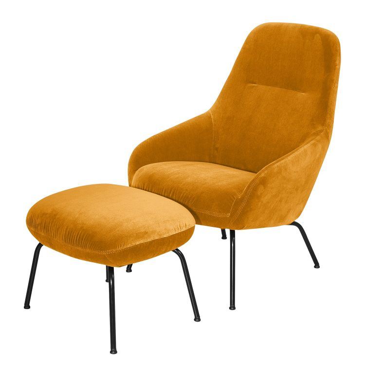 Image Home24 Fauteuil Rivel, Home24