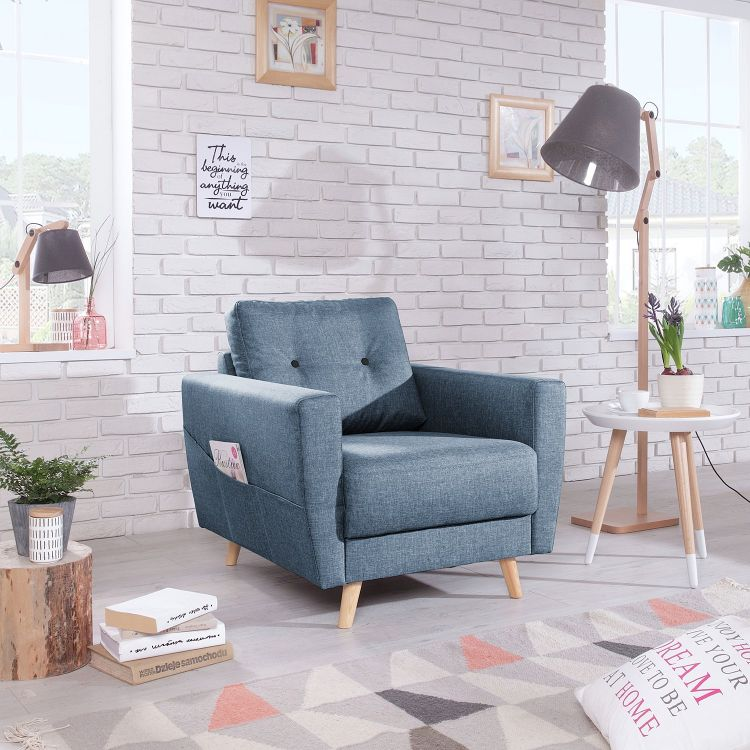 Image Home24 Fauteuil Sola, Home24