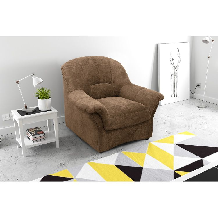 Image Home24 Fauteuil Wells, Home24