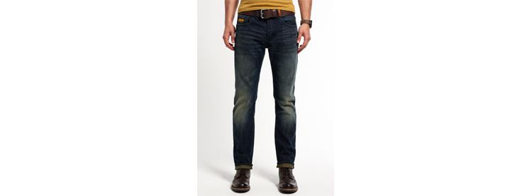 Image Superdry Loose-fit Copperfill Jeans