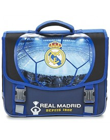 Schooltas Dessins Animés Football Real Madrid Cartable Trolley 41cm afbeelding