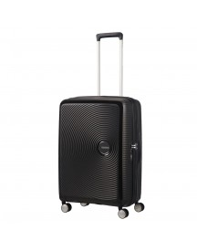American Tourister Soundbox Spinner 67 Exp. Bass Black afbeelding