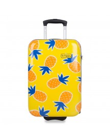Bhppy Handbagage Koffer 55 Home Sweet Pineapple afbeelding