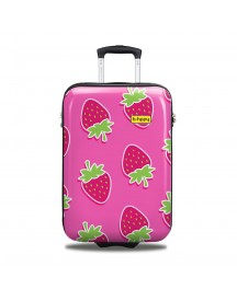 Bhppy Handbagage Koffer 55 Strawberry afbeelding