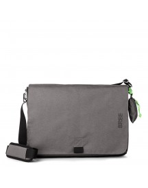 Bree Punch 711 Style Messenger L Slate afbeelding