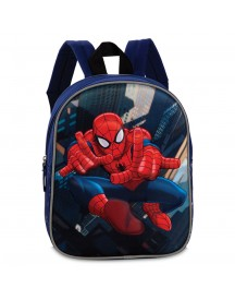 Disney Marvel Spiderman Kinder Rugzak Navy afbeelding