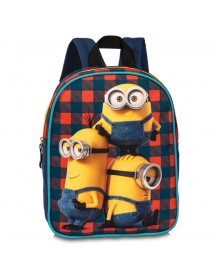 Disney Minions Kinder Rugzak Red/navy afbeelding