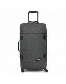 Eastpak Trans4 M Trolley Black Denim Tsa afbeelding