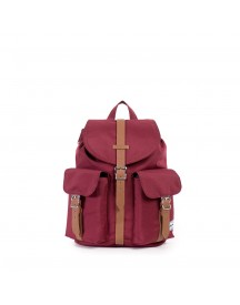 Herschel Dawson Mid-volume Rugzak Windsor Wine/tan Synthetic Leather afbeelding
