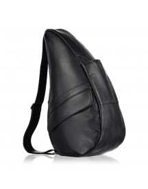 The Healthy Back Bag Leather M Black afbeelding