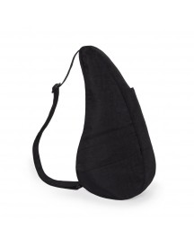 The Healthy Back Bag The Classic Collection Textured Nylon M Black afbeelding