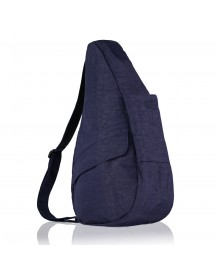 The Healthy Back Bag The Classic Collection Textured Nylon M Ipad Blue Night afbeelding
