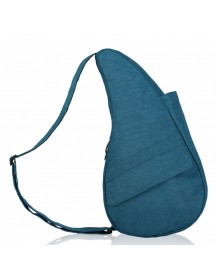 The Healthy Back Bag The Classic Collection Textured Nylon M Ipad Turkisch Blue afbeelding