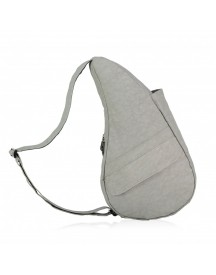 The Healthy Back Bag The Classic Collection Textured Nylon S Frost Grey afbeelding