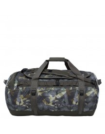 The North Face Base Camp Duffel L English Green Tropical Camo/new Taupe Green afbeelding