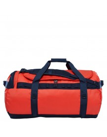The North Face Base Camp Duffel L Poinciana Orange/urban Navy afbeelding