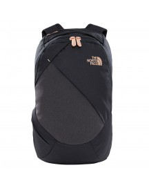 The North Face Electra Women Backpack Tnf Black Heather/burnt Coral Metallic afbeelding