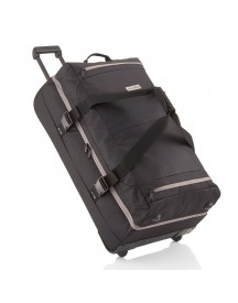 Travelite Basics Doubledecker Reistas Black/ Grey afbeelding