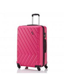 Travelite Quick 4 Wheel Trolley M Pink afbeelding