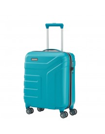 Travelite Vector 4 Wheel Trolley S Turquoise afbeelding