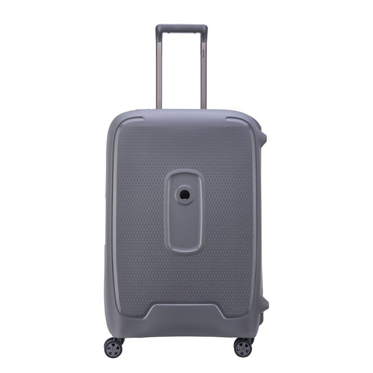 Image Delsey Moncey 4 Wheels Trolley 69 Grey Harde Koffer
