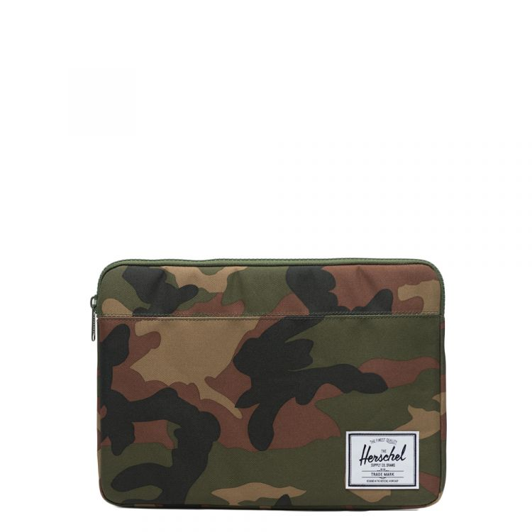 Image Herschel Supply Co. Anchor Laptop Sleeve 13'' Woodland Camo Laptopsleeve