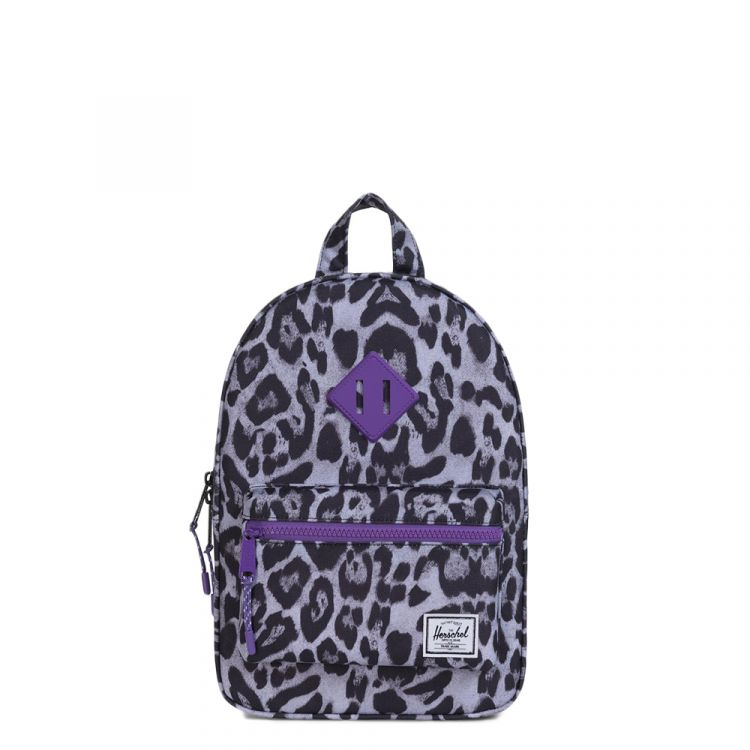 Image Herschel Supply Co. Heritage Kids Kids Rugzak Snow Leopard / Deep Lavender