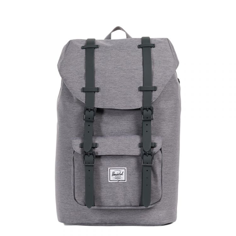 Image Herschel Supply Co. Little America Mid-volume Rugzak Mid Grey Crosshatch