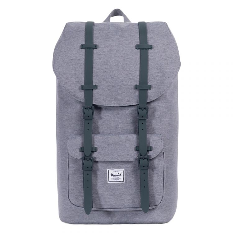 Image Herschel Supply Co. Little America Rugzak Mid Grey Crosshatch