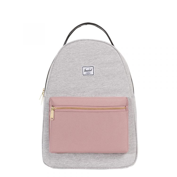 Image Herschel Supply Co. Nova Mid-volume Rugzak Light Grey Crosshatch/ash Rose/black
