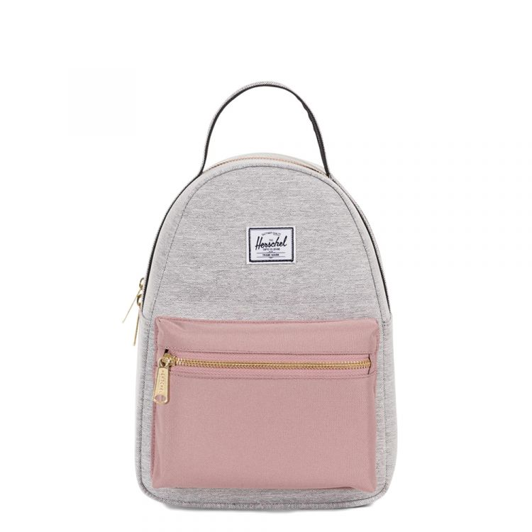 Image Herschel Supply Co. Nova Mini Rugzak Light Grey Crosshatch/ash Rose/black Rugzak