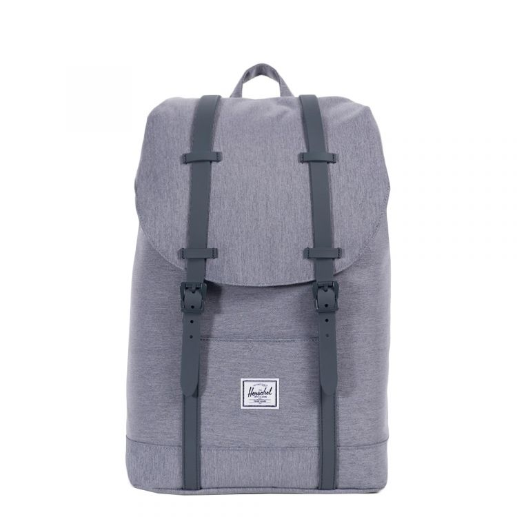 Image Herschel Supply Co. Retreat Mid-volume Rugzak Mid Grey Crosshatch