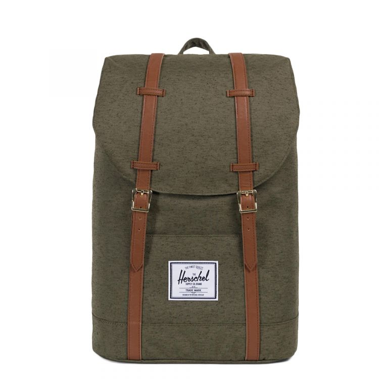 Image Herschel Supply Co. Retreat Rugzak Ivy Green Slub