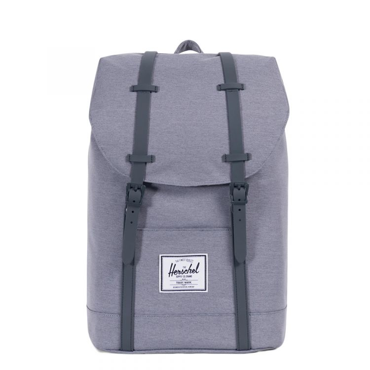 Image Herschel Supply Co. Retreat Rugzak Mid Grey Crosshatch