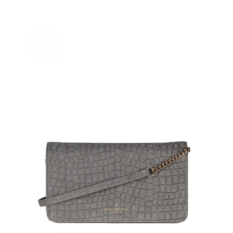 Image Pauls Boutique Lavenham Renee Clutch Bag Grey
