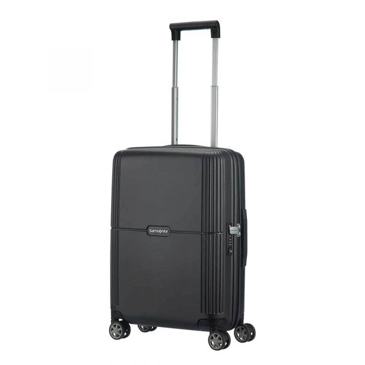 Image Samsonite Orfeo Spinner 55 Ink Black Harde Koffer