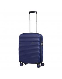 American Tourister Aero Racer Spinner 55 Nocturne Blue Harde Koffer afbeelding