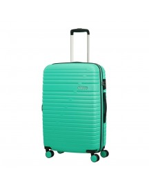 American Tourister Aero Racer Spinner 68 Expandable Mint Harde Koffer afbeelding