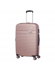 American Tourister Aero Racer Spinner 68 Expandable Rose Pink Harde Koffer afbeelding