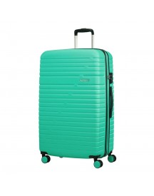 American Tourister Aero Racer Spinner 79 Expandable Mint Harde Koffer afbeelding