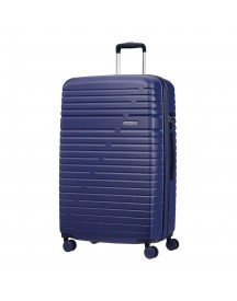 American Tourister Aero Racer Spinner 79 Expandable Nocturne Blue Harde Koffer afbeelding