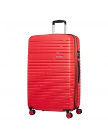 American Tourister Aero Racer Spinner 79 Expandable Poppy Red Harde Koffer afbeelding
