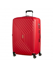 American Tourister Air Force 1 Spinner 76 Exp Flame Red Harde Koffer afbeelding