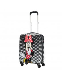 American Tourister Disney Legends Spinner 55 Alfatwist 2.0 Minnie Mouse Polka Dots Harde Koffer afbeelding
