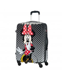 American Tourister Disney Legends Spinner 65 Alfatwist Minnie Mouse Polka Dots Harde Koffer afbeelding