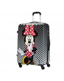 American Tourister Disney Legends Spinner 75 Alfatwist Minnie Mouse Polka Dots Harde Koffer afbeelding