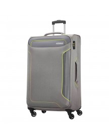American Tourister Holiday Heat Spinner 79 Metal Grey Zachte Koffer afbeelding
